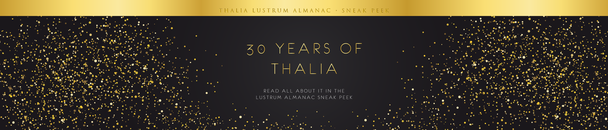 Lustrum almanac sneak peek